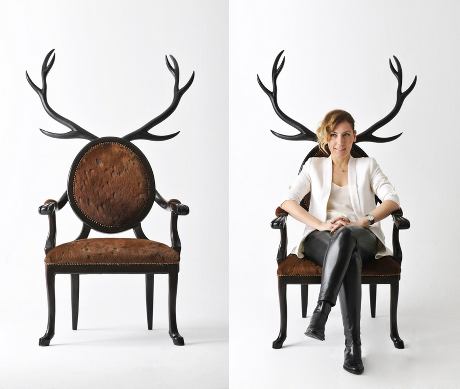 The well appointed catwalk hybrid chairs by merve kahraman - Sedie di design famosi ...