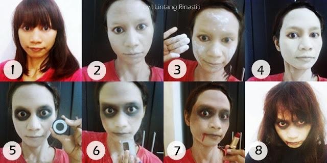 Random Wonderland Special Effect Makeup Makeup Hantu