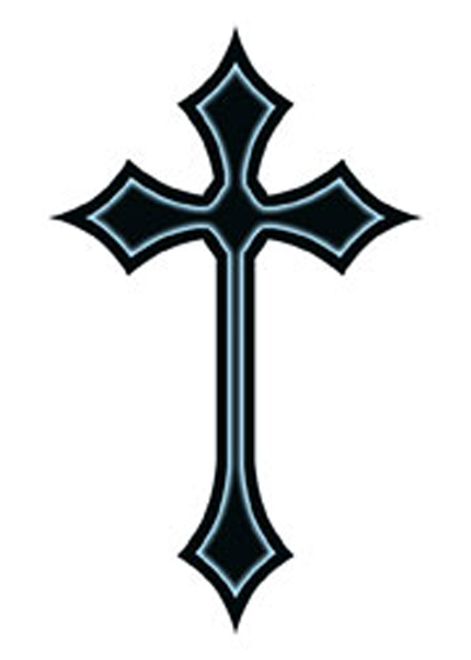 Cross tattoo design