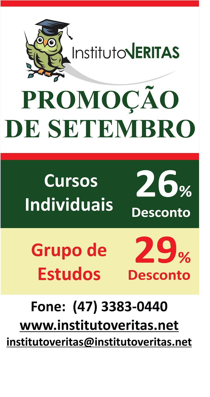 Promoção de Setembro