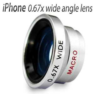 wide angle lens 0.67 x for iphone 4 4S