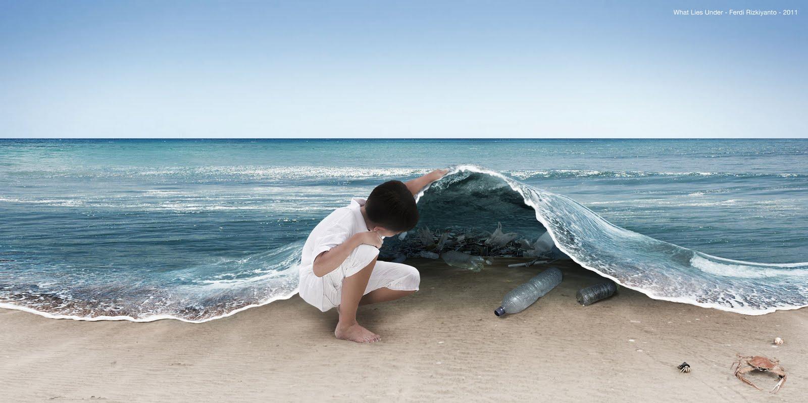 Nur weil Du ihn nicht siehst heisst das noch lange nicht, dass er nicht da ist: Müll in der Ostsee