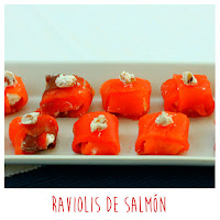 Foto: Raviolis de salmón