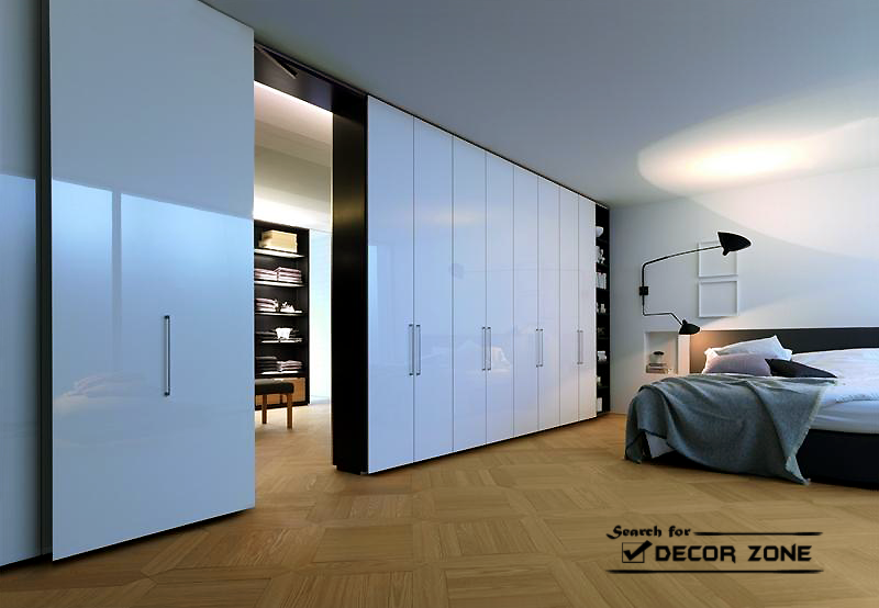 Bedroom wardrobe designs ideas and types for Different types of wardrobe designs