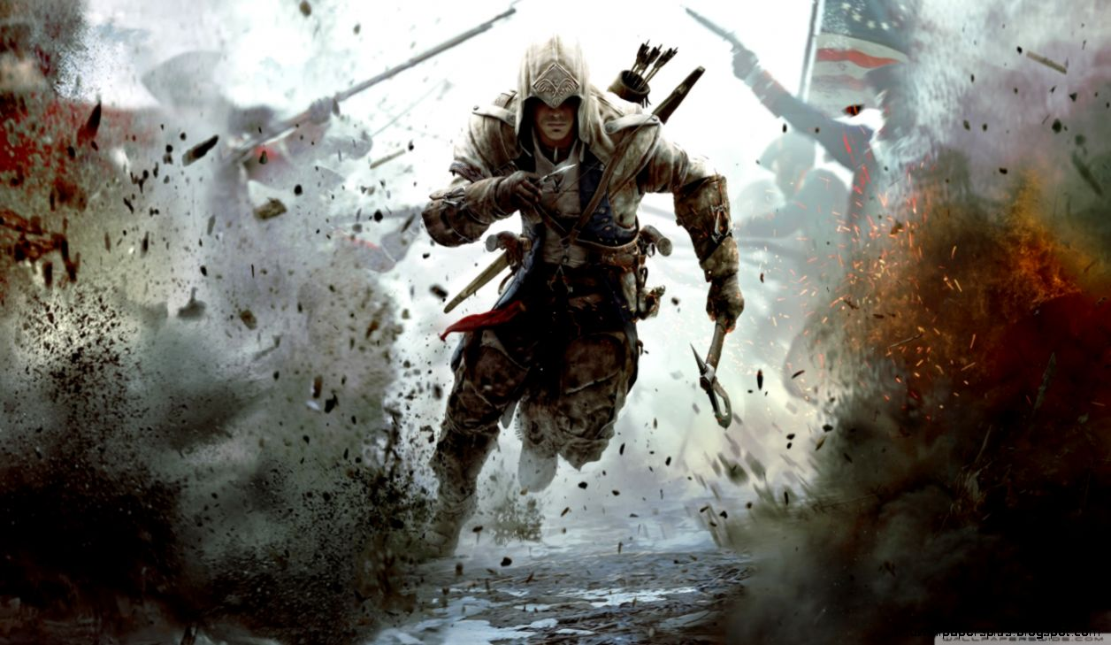 Assassins Creed 3 Connor Free Running HD desktop wallpaper