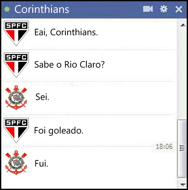 Zoando o Corinthians 3