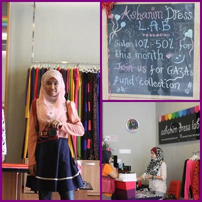 Melawat Butik Fashionista!!!