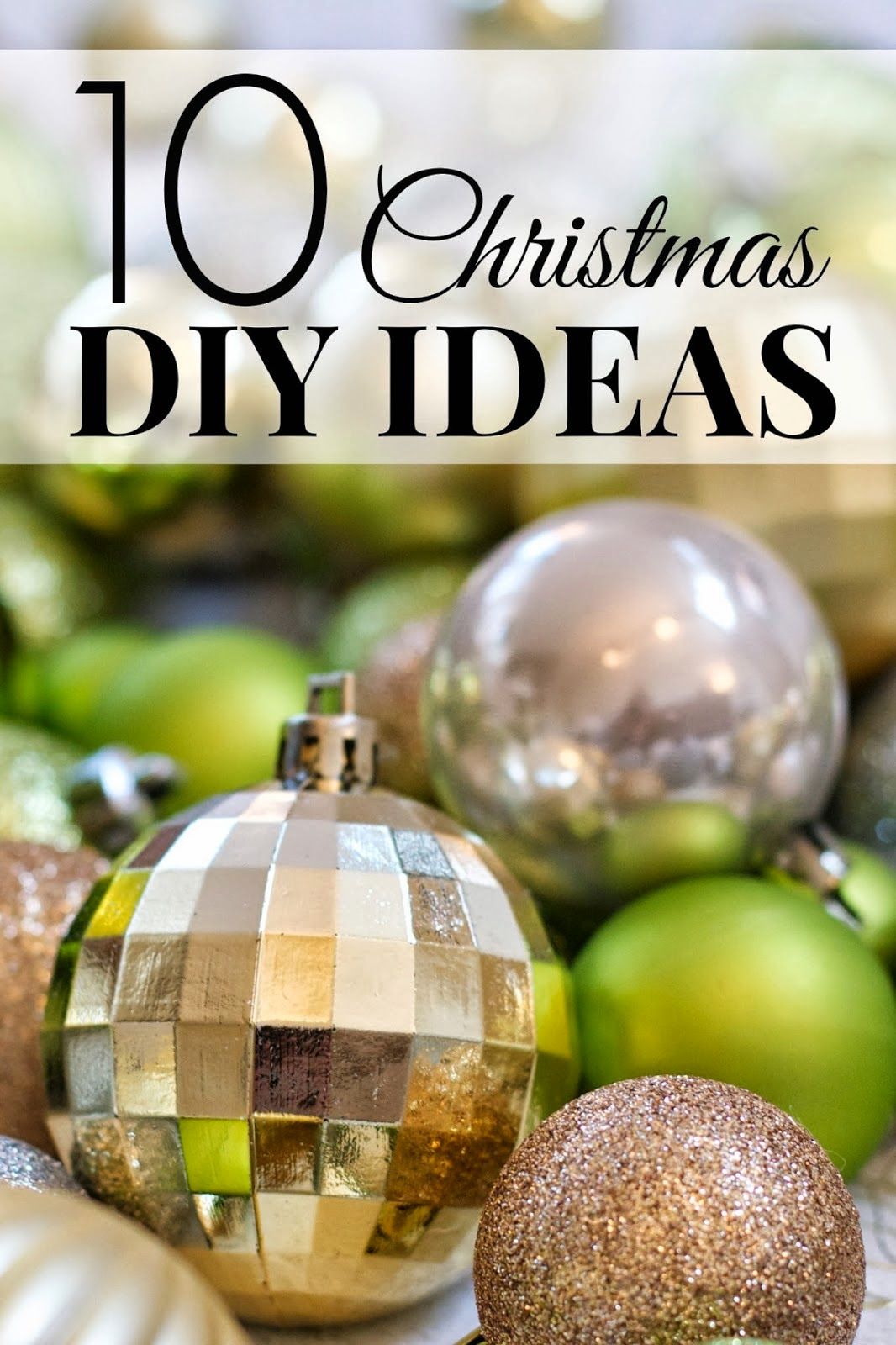 10 Christmas DIY Ideas