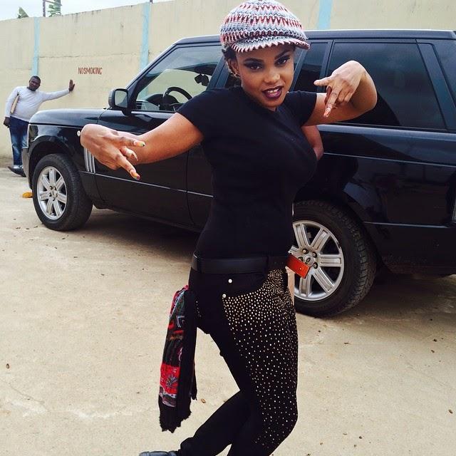 Iyabo Ojo Shows Off Her Swag