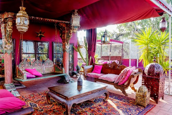 La maison 17 decoraci n interiorismo inspiradores aires - Decoracion marruecos ...