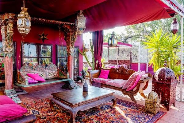 La maison 17 decoraci n interiorismo inspiradores aires for Cortinas marroquies