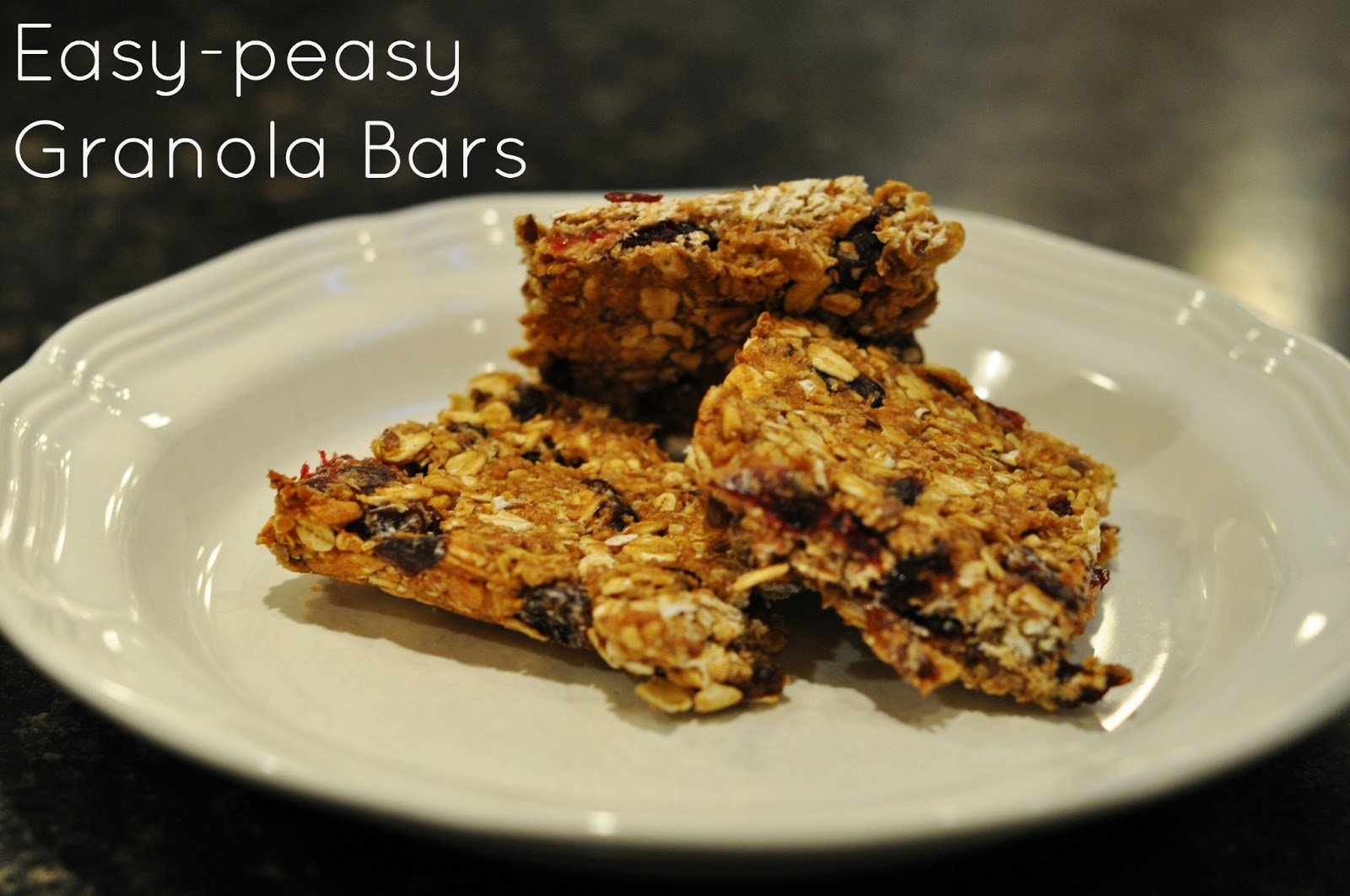 Impossible, you say? Granola bars that do not come in a shiny foil ...