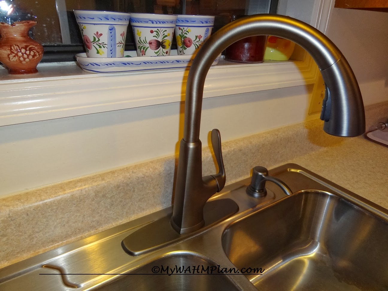pfister slate pasadena faucet giveaway pfister kitchen faucets MyWAHMPlan com