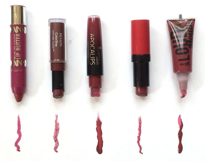 best berry lipsticks for autumn