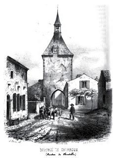 patrimoine de l'Allier Le beffroi de Charroux