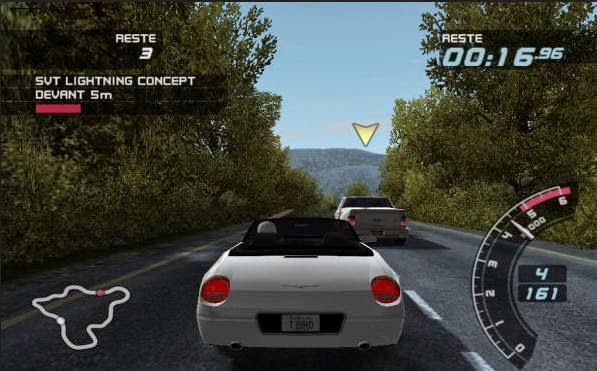 how to play ford racing 3 pc