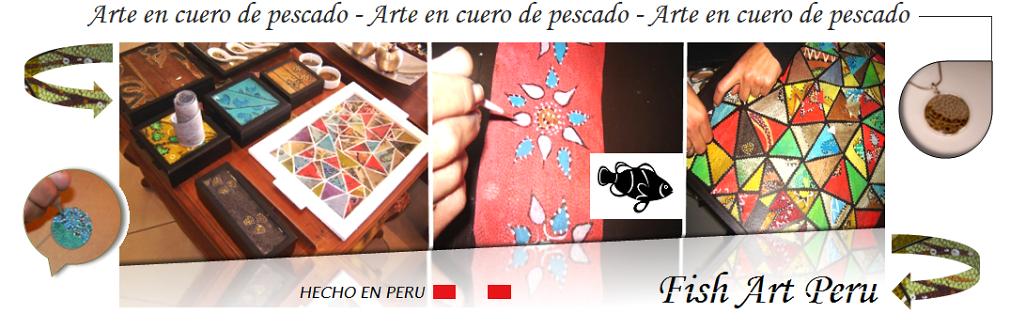 Fish Art Peru - Arte y diseño en cuero de pescado