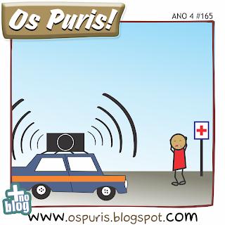Os Puris - Carro de som alto: Denuncie!