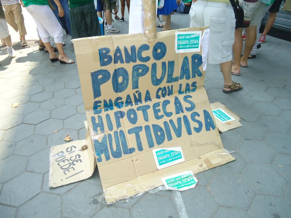 P a h alt pened s visita a catalunya caixa 19 07 2013 for Oficina principal banco popular