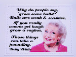 Betty White and her brilliance!
