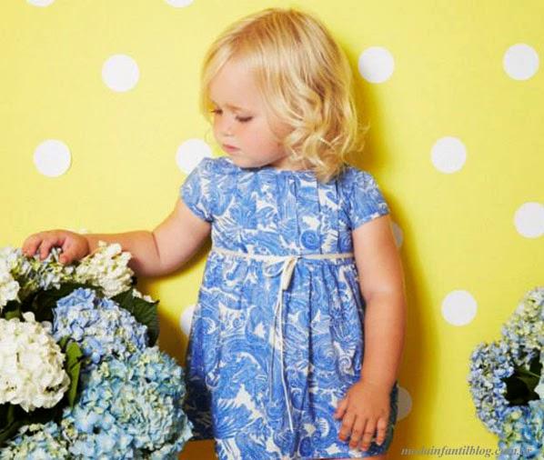 moda en vestidos niñas verano 2014