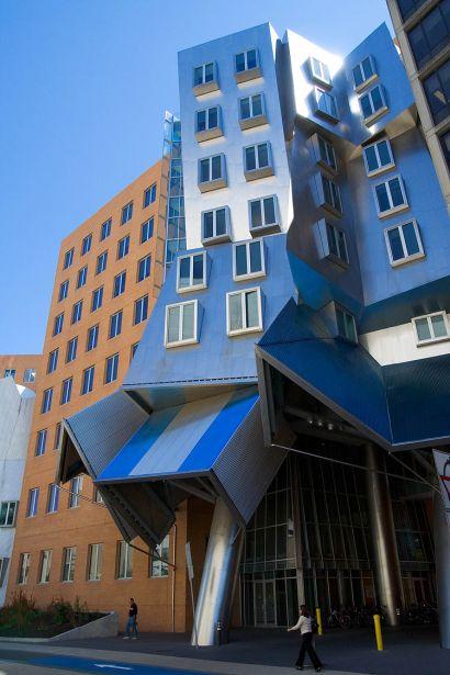 Arquitectura no convencional: Stata-center