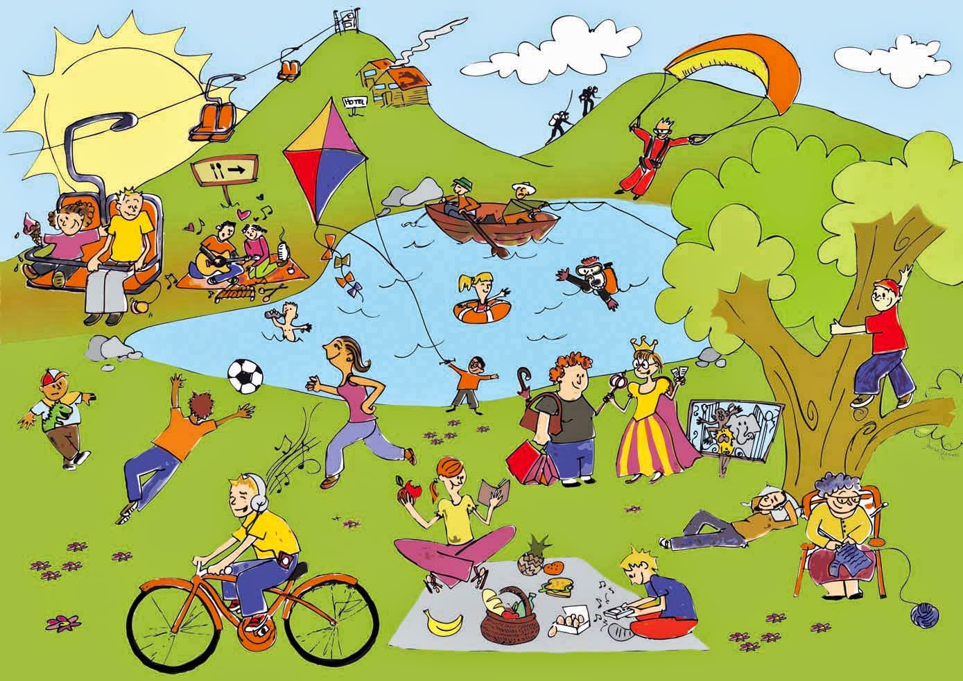 Free End of the Year / Summer Activities Math Mystery Pictures for description activities