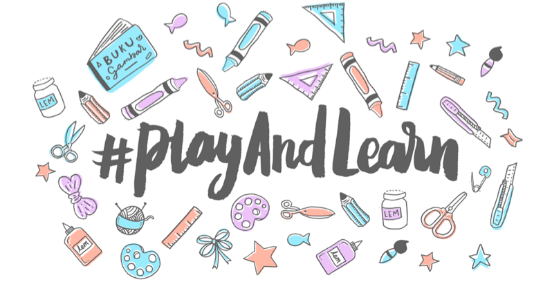Pre-order Buku Play And Learn