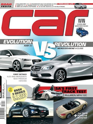 My writing published in May 2012 CAR magazine