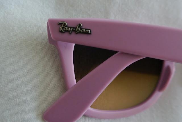 ray ban matt pink wayfarer