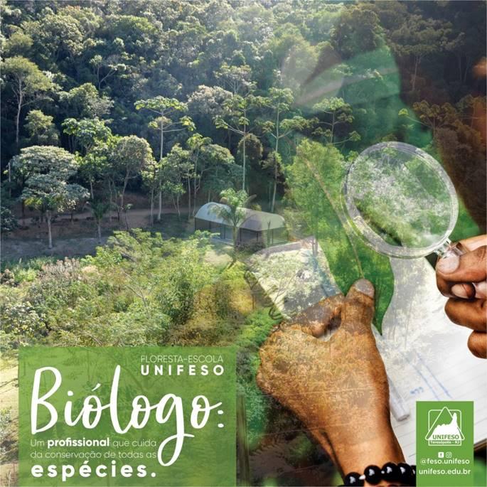Biólogo: Um profissional que cuida da conservação de todas as espécies