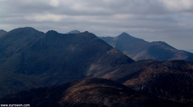 Montañas del Parque Nacional de Killarney en Irlanda