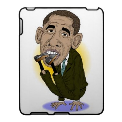 obama puts foot in his mouth