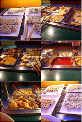 Panda Buffet Food