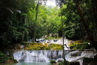 air terjun di Sulawesi Tenggara, air terjun moramo