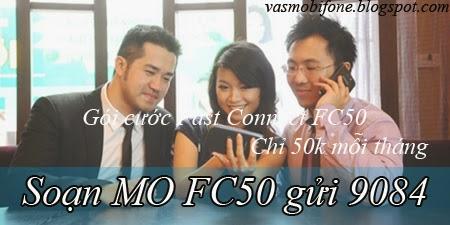 Đăng ký gói cước 3G Fast Connect FC50 của Mobifone