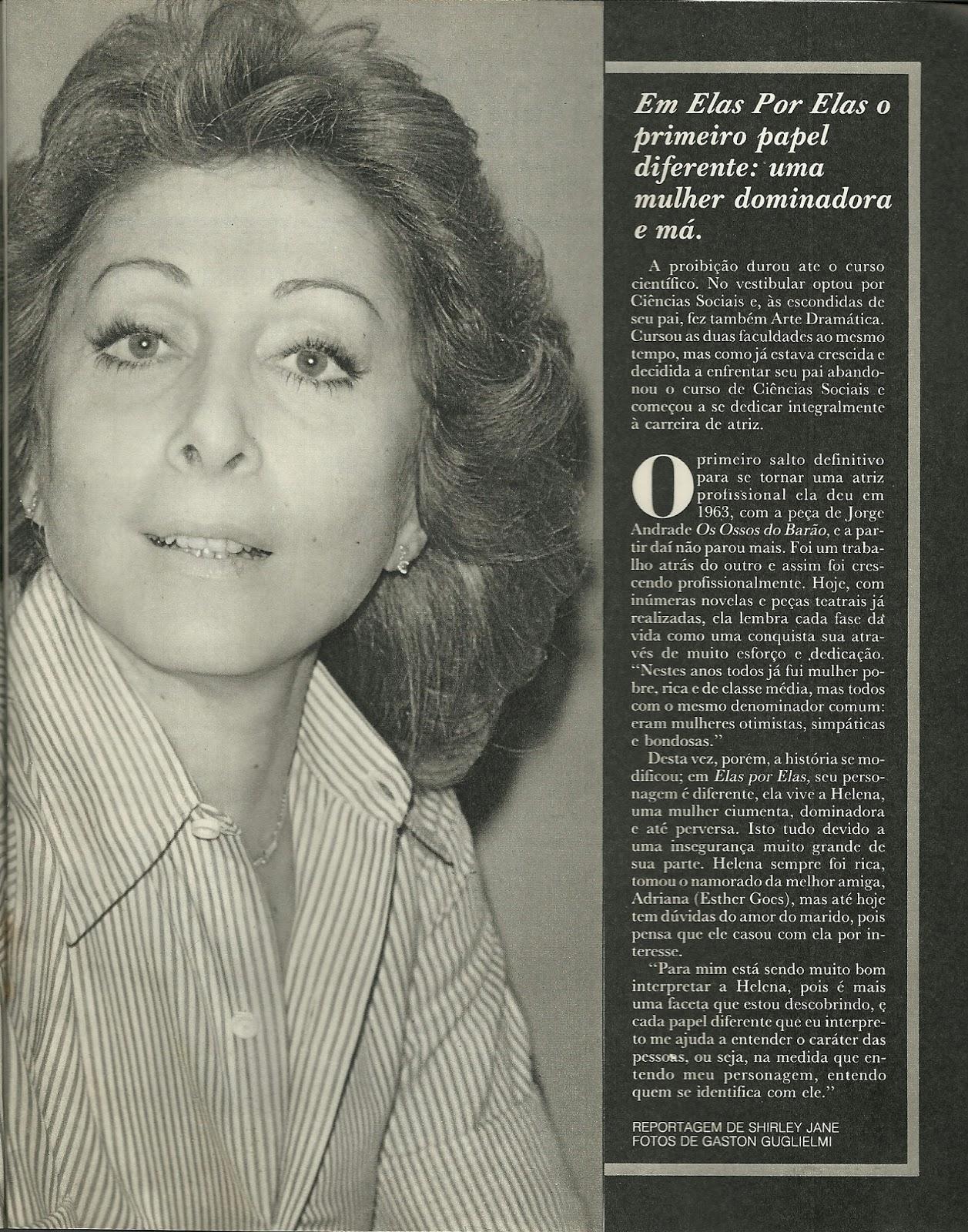 Aracy Balabanian Delightful revista amiga e novelas: aracy balabanian