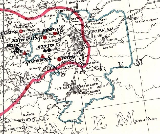 Jerusalem Palestine Embassy ısraels Documented Story Map Of ısraeli