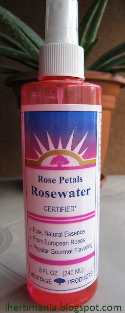 Heritage Products Rosewater Agua Rosas Iherb