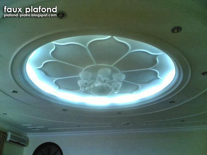 Plafond d coration maison 2014 for Platre pour plafond