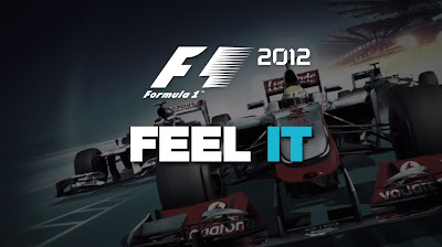 F1 2012 - Feel It Logo - We Know Gamers