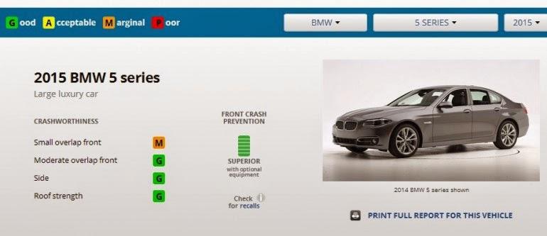 краш-тест BMW 5-й серии
