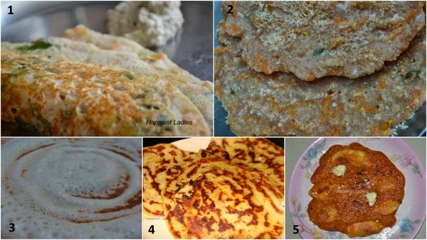 5 best dosa recipes
