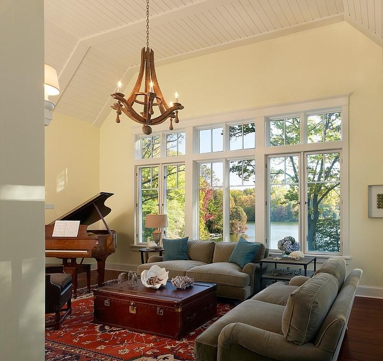 amerikanischer landhausstil zeitlos klassische einrichtung von wohnzimmer esszimmer und kche - Amerikanischer Landhausstil Wohnzimmer