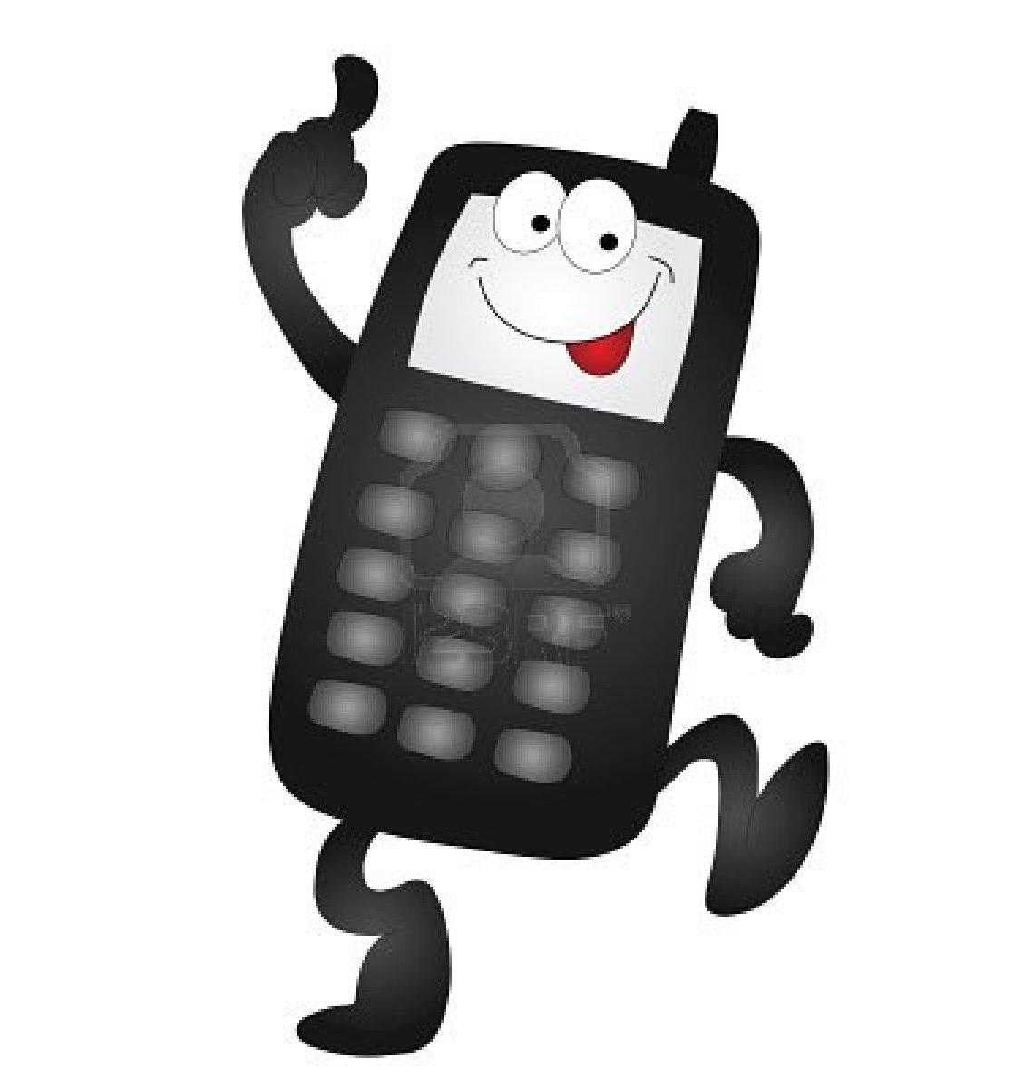 9931008 cartoon mobile phone isolated on white background