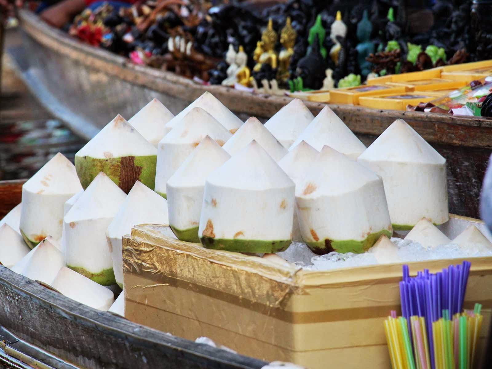 marche flottant Dammoen Saduak
