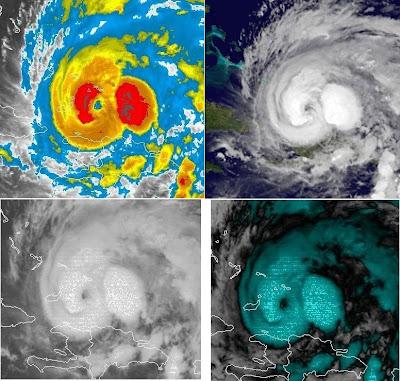 Hurrikan IRENE öffnet Auge wieder, 2011, aktuell, Atlantik, August, Bahamas, Irene, Hurrikanfotos, Hurrikan Satellitenbilder, Hurrikansaison 2011, Turk-Inseln, Caicos-Inseln,