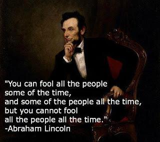fool me once....