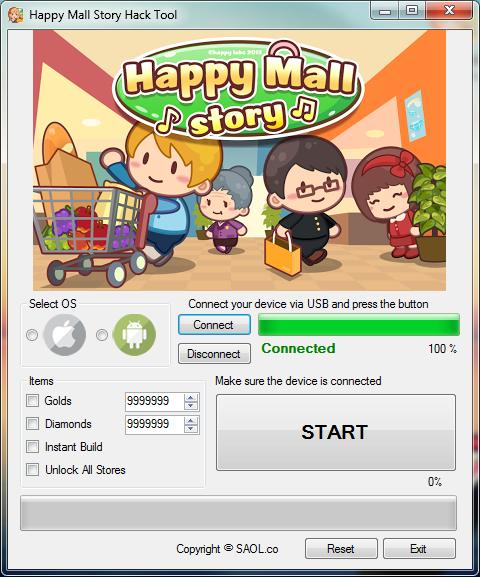 Happy Mall Story Hack Cheats Hacknow4free