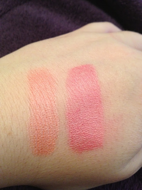 NYC Blushable Cream Stick Swatches
